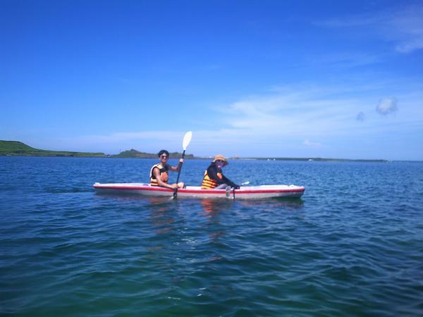 澎湖獨木舟跨島體驗